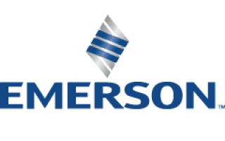 Logo de Emerson | Camion-citerne | Mesures Calib-Tech | Montréal