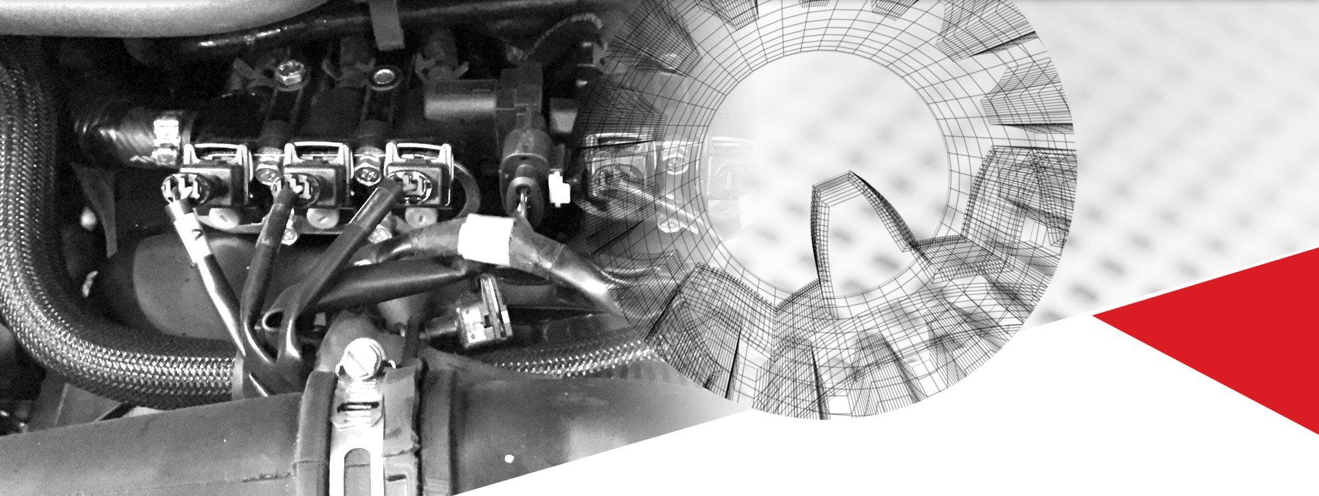 Moteur | Camion-citerne | Mesures Calib-Tech | Montréal