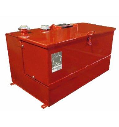 Un autre modèle de réservoir mobile rouge | Camion-citerne | Mesures Calib-Tech | Montréal