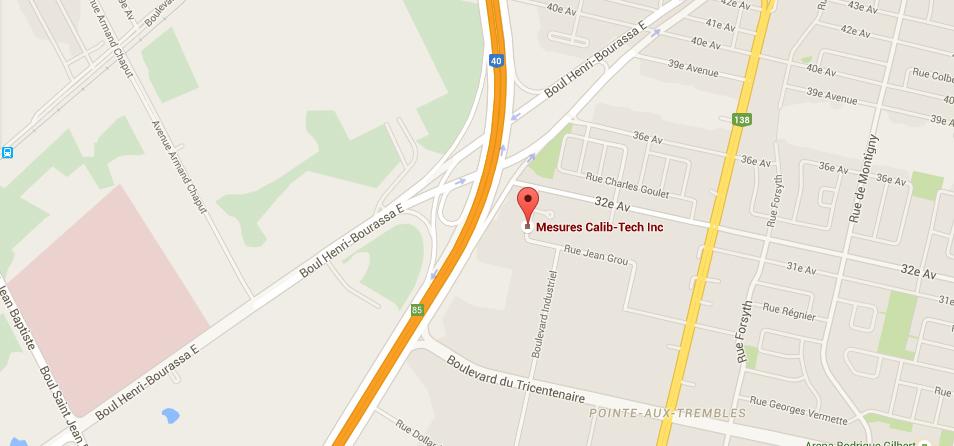 Nous joindre | Mesures Calib-Tech | Montréal